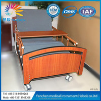 YG-3 Three Functions Medical Electric Bed with toilet system