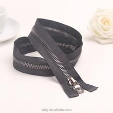 Zipper para o vestuário produção 75 cm grande zíper de metal com metal slider para o saco e jaqueta e bagagem