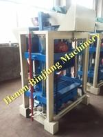 Henan Binjiang concrete block machines for sale / manual block making machine