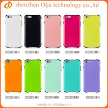 Hot new products for 2015 mobile phone case for iphone 6, soft inside plastic outside for iphone 6 hard case