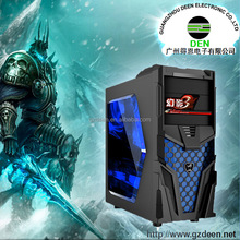 2015 best selling transparent side panel cheap atx computer case, atx computer cabinet, pc case