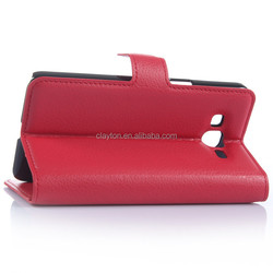 Wallet PU Leather Phone Case with stand for Samsung Galaxy Grand Prime G530