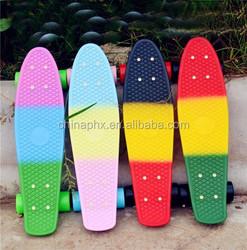 customized plastic penny board ,mini cruiser skate board,complete nickel longboards