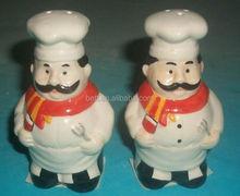 fashion custom ceramic condiment container set