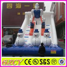 Giant toboggan china inflatable slide