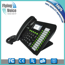 Flyingvoice wifi voip phone/ 5 line ip phone with wifi/wifi skype phone IP652W