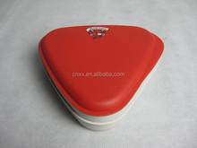 Triangle mini Lunch Box, office bento box, Plastic Tiffin Boxes