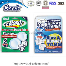 2pk industrial toilet cleaner/toilet bowl cleaner with blue blocks/disinfectant toilet bowl cleaner