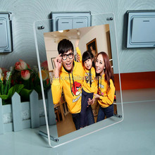male female sex picture acrylic magnetic photo frame