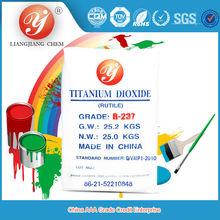 Hot Sale rutile titanium dioxide R237 titanium dioxide where you buy