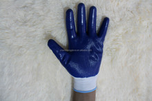 100%nitrile coated gloves,colored nitrile gloves