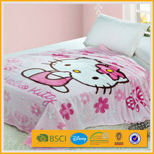 baby thick printed polyester microfiber bed comforter price