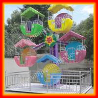 Games children's mini ferris wheel for sale