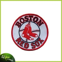 Boston red sox soccer team embroidered patches for shirts