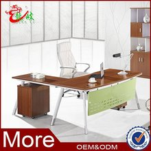 OEM design office particle board melamine manager desk executive/director table M6546