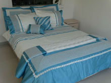 HTLD1135 lace embroidery duvet cover
