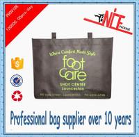 2015 Wen Zhou wholesale cheap non-woven shopping bag for shoebox