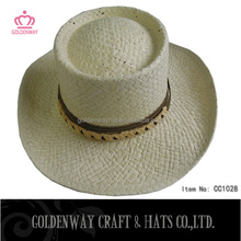 Custom hand made fitted school straw hats