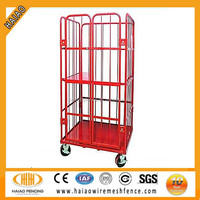 Customized cheap colorful hot sale used storage container