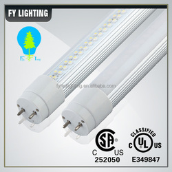 China gold supplier AC100-277V external and internal driver 8 ft t8 led fluorescent tube replacement