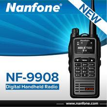 Nanfone nf-9908 con fm digital de radio de dos vías de radio