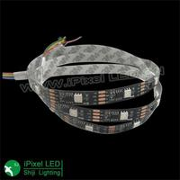 ws2821A 30leds/m dmx rgb led rope lighting strip 5v