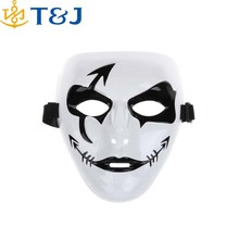 >>>Masquerade props multicolor Party Horror Billy Mask Jigsaw Puppet Adam Creepy Scary Electric Saw Halloween Cosplay Mask/