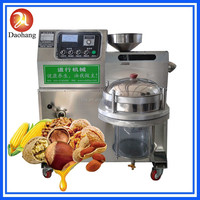 Home olive oil press with top quality Small cold oil press machine