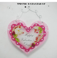 Valentine's Day Gift Double Heart Shaped Plaques