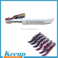 Easy life 3 in 1 functions wine corkscrew funny & wine opener with you brand logo
