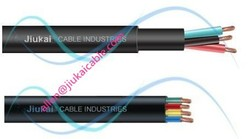 14AWG~1AWG PVC/RUBBER Insulation 3/4 core 1.5mm2~95mm2 electric submersible pump wire/cable