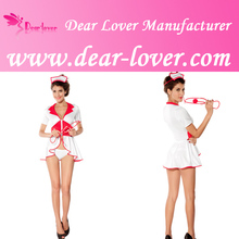 2014 Wholesale Too-selling Dear-Lover Sexy Pin Up Nurse Costume