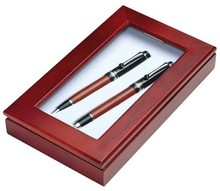 New Promotion Eco Wooden Pen Eco Wooden Pencil Rosewood Pen Wooden pen set