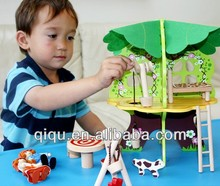 2015 Educational toy assembly tree house building