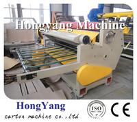 High speed corrugated paperboard mechanical sheet cutter/cardboard machancial sheet cutting machine/carton box machinery