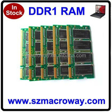 All kinds of the memory module offer laptop ram ddr1 1gb 400mhz