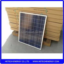 High efficiency poly sola panels 60w with CE certified