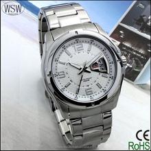 new style man's brand quartz watch, stainless steel watches men, water resistant men's wrist watch