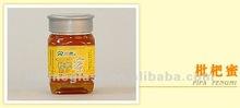 500 ml de alta qualidade quadrado garrafa de mel frasco de vidro com tampa de rosca de plástico