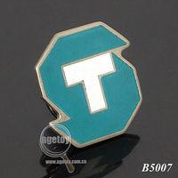 Metal Letter T Craft Emblems
