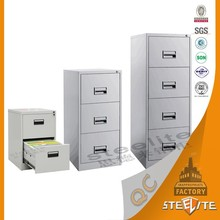 Top quality office used drawer steel cheap metal fire proof filing cabinet