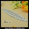 New product fancy crystal rhinestone embellishment applique, diamond embellishments