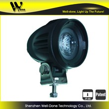 10W led work light 900 lm for tow truck, diryt moto led headlights 10W