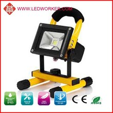 special price solar light 20W rechargeable led floodlight , AC/DC adapter, 12V car plug charger include