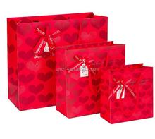2015 fashion wholesale brown paper bags/ discount brand printed paper bag/ classical brand printed paper bag
