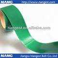 verde pvc tira de goma con tela