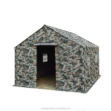 Waterproof canvas military tent,6-12 person military tent,disaster relief tent