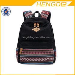 Latest cheap wheeled backpack nylon luggage