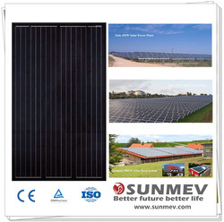 High efficiency black poly solar panels 250 watt with cheap prices