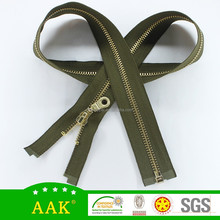 5 brass zippers wholesale eco brass pouch zipper leather puller zipper chain business company